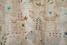 Embroidery. Gesticktes.