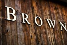 Brown / by Julia Carswell Sweitzer