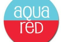 Color Combo: Aqua And Red