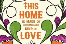 Home Sweet Home / Ideas for decorating / by Chelsea Graham