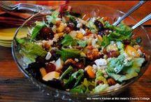 Salad / Fresh Green Salads / by Miz Helen's Country Cottage