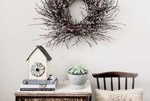 Home Decor Inspiration / Home decor, diy, vignettes, winter, spring, autumn, fall, summer