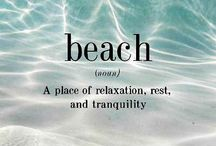 The Beach / by Julia Gray Carswell