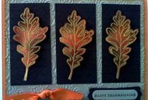 Thanksgiving Crafts / Thanksgiving day cards and other projects / by Susan L. Garvin
