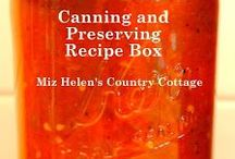 Canning and Preserving / From Garden to Jar Canning and Preserving / by Miz Helen's Country Cottage