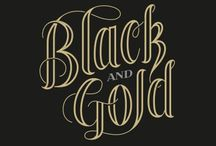 Color Combo: Black and Gold