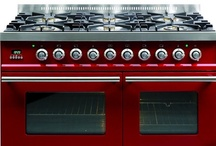 Red Kitchen Appliances & More / Make a statement (or blind your houseguests).