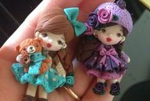 Polymer Clay 2 Figures