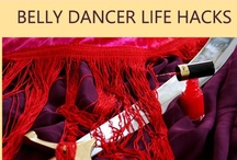 DIY Belly Dance Projects / Fun and crafty projects for belly dancers, including costumes, props, accessories, fabrics, makeup, and more!