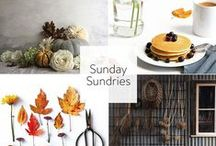 SUNDAY SUNDRIES Inspiration on the {blog} / Sunday Sundries Features on the blog at Keeping With the Times