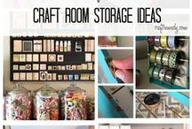 Craft Studios / ideas and pictures of craft studios / by Susan L. Garvin