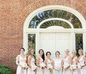 Bride and Bridesmaids Wedding Photos Inspiration / You can find the perfect bride or bridesmaid dresses, color schemes, bouquets, and other special details. Check out our blog for more inspiration at www.kevinandannablog.com