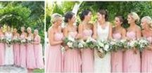 Bridal Party Wedding Photos / Bridal Party ideas on your wedding day from color schemes to photo ideas. Check out our blog for more inspiration at www.kevinandannablog.com