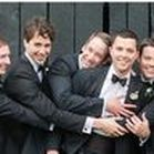 Groom & Groomsmen Wedding Inspiration / Find the perfect Tux, Suit, or fun photo ideas for Grooms and Groomsmen. Check out our blog for more inspiration at www.kevinandannablog.com