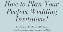 K&A Wedding Tips and Tricks / Helpful tips and tricks to help you plan the perfect wedding day. Check out our blog for more inspiration at www.kevinandannablog.com