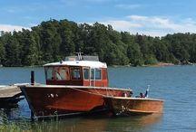 Mahogany boats Finland / Projects