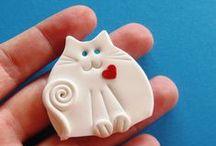 Fimo ♥ / De petites créations en pâte polymère originales !