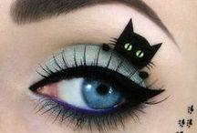 Coiffure et beauté ! / Un chignon flou, un eyeliner bien appliqué, c'est la base de tout !