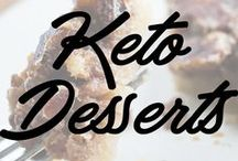 Keto Dessert / Being Keto doesn't mean restricting yourself! It's very flexible and can fit any lifestyle. Indulge in these keto transformed desserts.