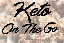 Keto On The Go / Home-made keto snacks for on the go! Also great for packed school lunches and at home snack time.
