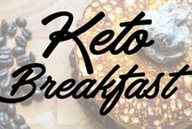 Keto Breakfast / Easy to make, filling keto breakfasts!