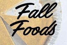 Comfort Foods for Fall / We love eating with the seasons, and Fall might just have the best season-specific menu items out of them all.