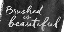 Font love / Beautiful fonts, font pairings, font combinations, calligraphy fonts, handwritten fonts, free fonts, feminine fonts