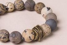 Jasper Stone Jewelry & Meaning / A collection of various types of beautiful Jasper Stone jewelry and its metaphysical properties and meanings.