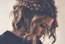 Capelli corti / Stupende acconciature con i capelli corti❤️
