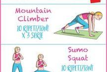 Fitness esercizi