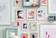 interiors / white and wood with pops of colour / by Valentina Loffredo