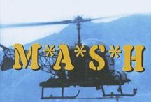 M*A*S*H / Mobile Army Surgical Hospital Q: What is Alan Alda's favorite food? A: MASH potatoes!                   / by Martha Gill