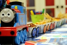Thomas Party / Thomas the Train themed birthday party ideas - food, decor, etc.