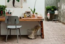 Work space / Lovely and inspiring workpsace