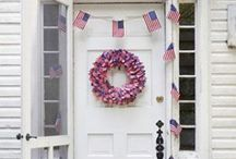 Independence Day! / 4th of July decorations.