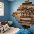 Small reclaimed wood projects / Nothing big, but these projects add a lot to your home and living space.