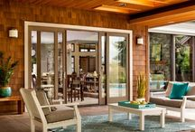 To Adore French Doors / In-swing, out-swing, sliding…French-style patio doors to adorn your home. Get inspired to make your patio a beautiful entrance to your backyard. / by Milgard Windows & Doors