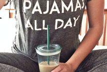 Pjs / Just Jammie's. My favorite thing to wear.