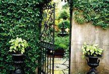 Secret gardens, Hidden courtyards