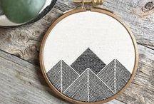 Embroidery + Sashiko / Ephemera things made with fabric