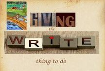 """Giving: The Write thing to do."" Nov. 4th 6-9pm CST / Catch the Wave and give to one of our favorite charities."