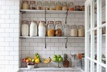 Pantry / Ideas to design and organize my new pantry.