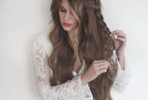 Hair / Cute long hair styles and color options