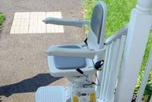 Lifts! / Do you have a problem with mobility? Chair Lifts can help you navigate your home with ease.