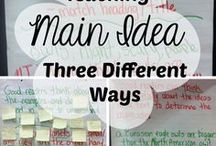Main Idea / Helping students determine the main idea and details of written texts