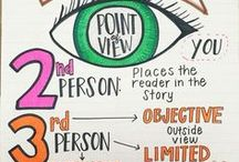 Anchor Charts and Post-Its / Visual reminders help students develop comprehension