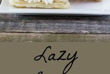Sweet Treats / Recipes for delicious sweet snacks that don't need formal presentations.