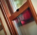 Rustic Window Designs / Designers everywhere are using wood windows and doors for all sorts of projects. Regular wood windows can become worn down overtime due to the climate and just the nature of wood. Our Essence Series Windows and doors provide you with the warm wood interior and a hard, strong fiberglass exterior.  This board shows a selection of our choices for how to use the Essence Series for your next home project.