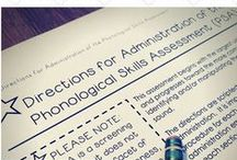 Reading Assessment / Includes progress monitoring tools for phonological awareness, decoding and encoding
