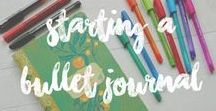 Bullet journal ideas / Ideas para rellenar tu cuaderno